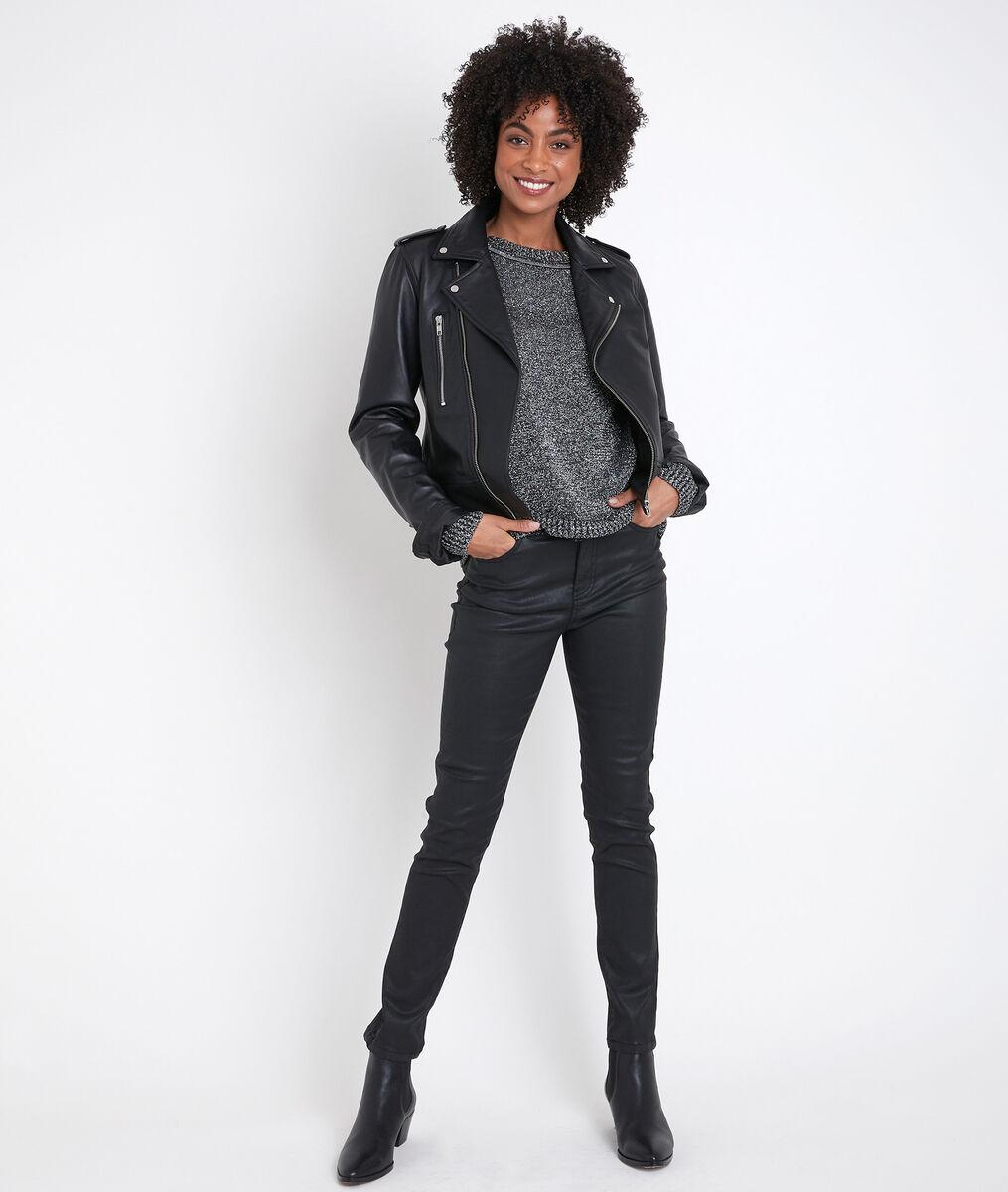 Roline black lurex jumper PhotoZ | 1-2-3