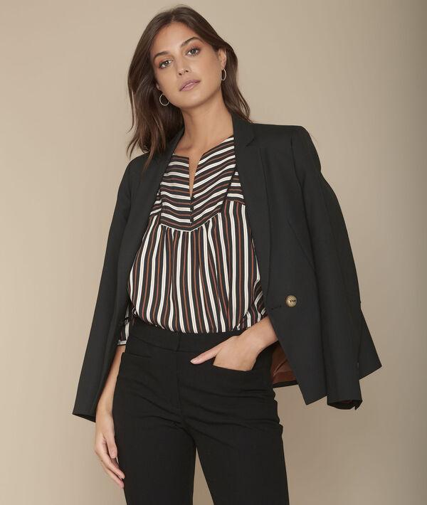 Madina striped blouse. PhotoZ   1-2-3