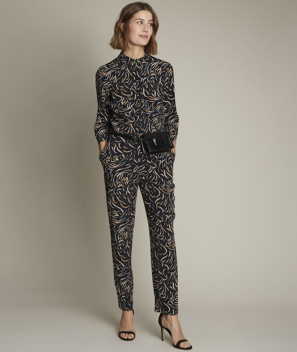 Carmen printed jumpsuit PhotoZ | 1-2-3