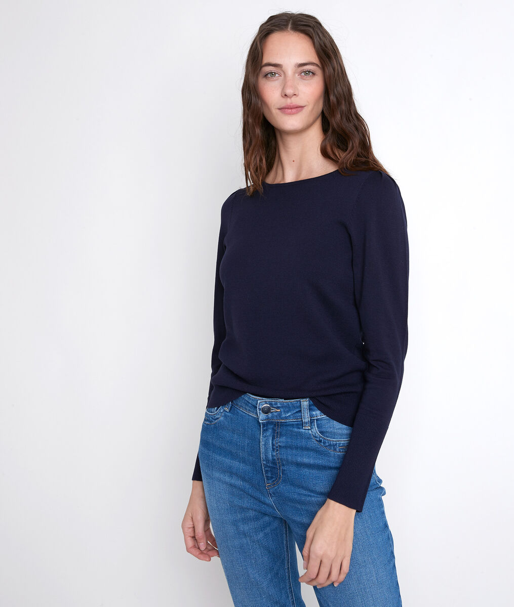 ADELIE navy pullover PhotoZ | 1-2-3