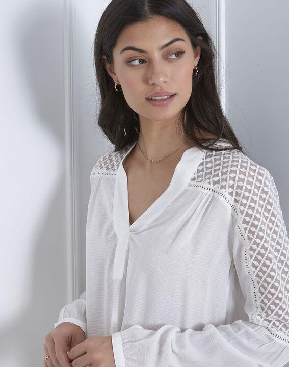 Valy ecru lace blouse (4) - Maison 123