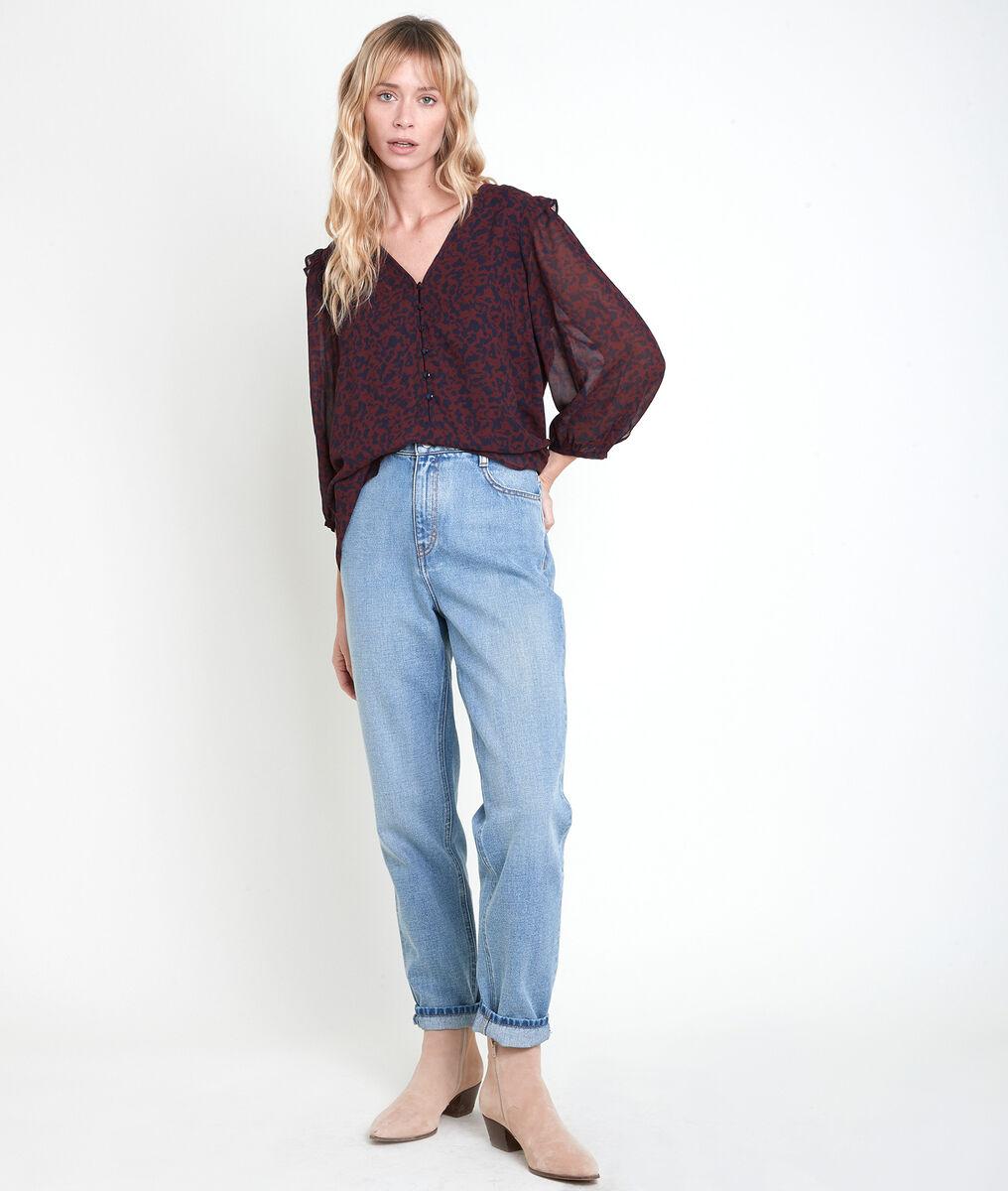 TANGER printed blouse PhotoZ | 1-2-3