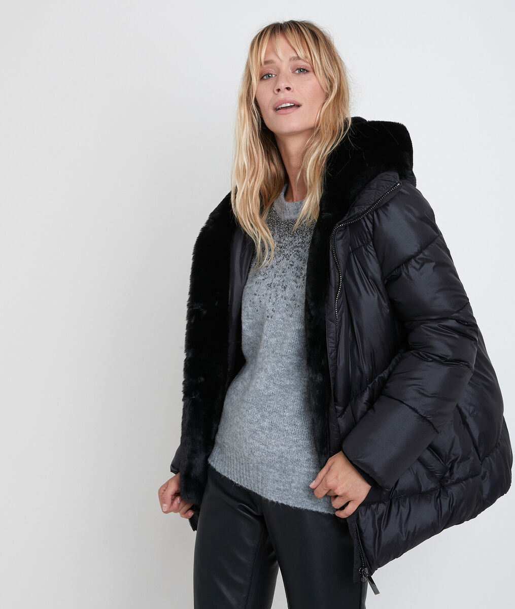 Baiko down jacket with fake fur PhotoZ | 1-2-3
