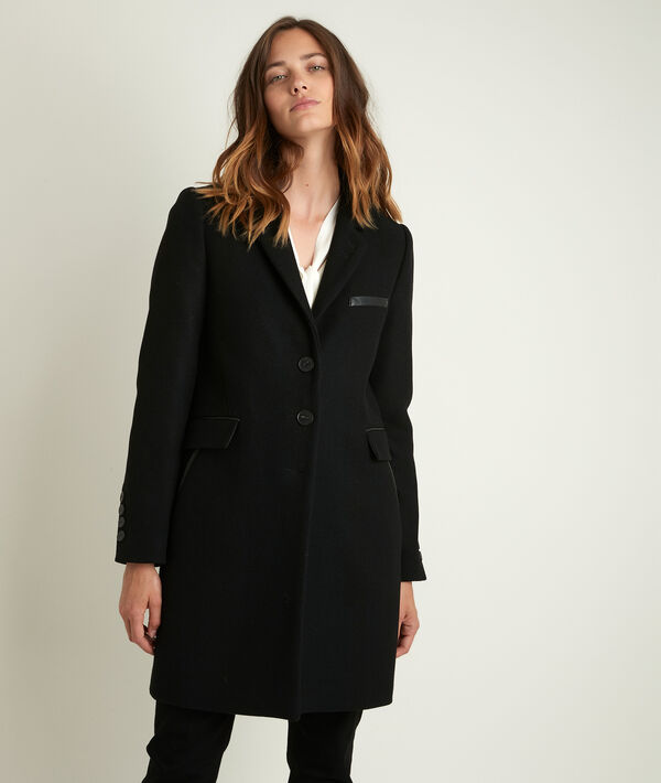 Plume bis 3/4-length wool coat PhotoZ | 1-2-3