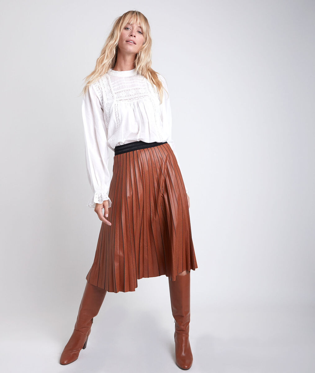 Garance pleated skirt PhotoZ | 1-2-3