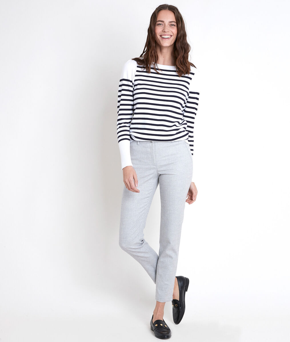 MEI grey lurex cigarette trousers PhotoZ | 1-2-3
