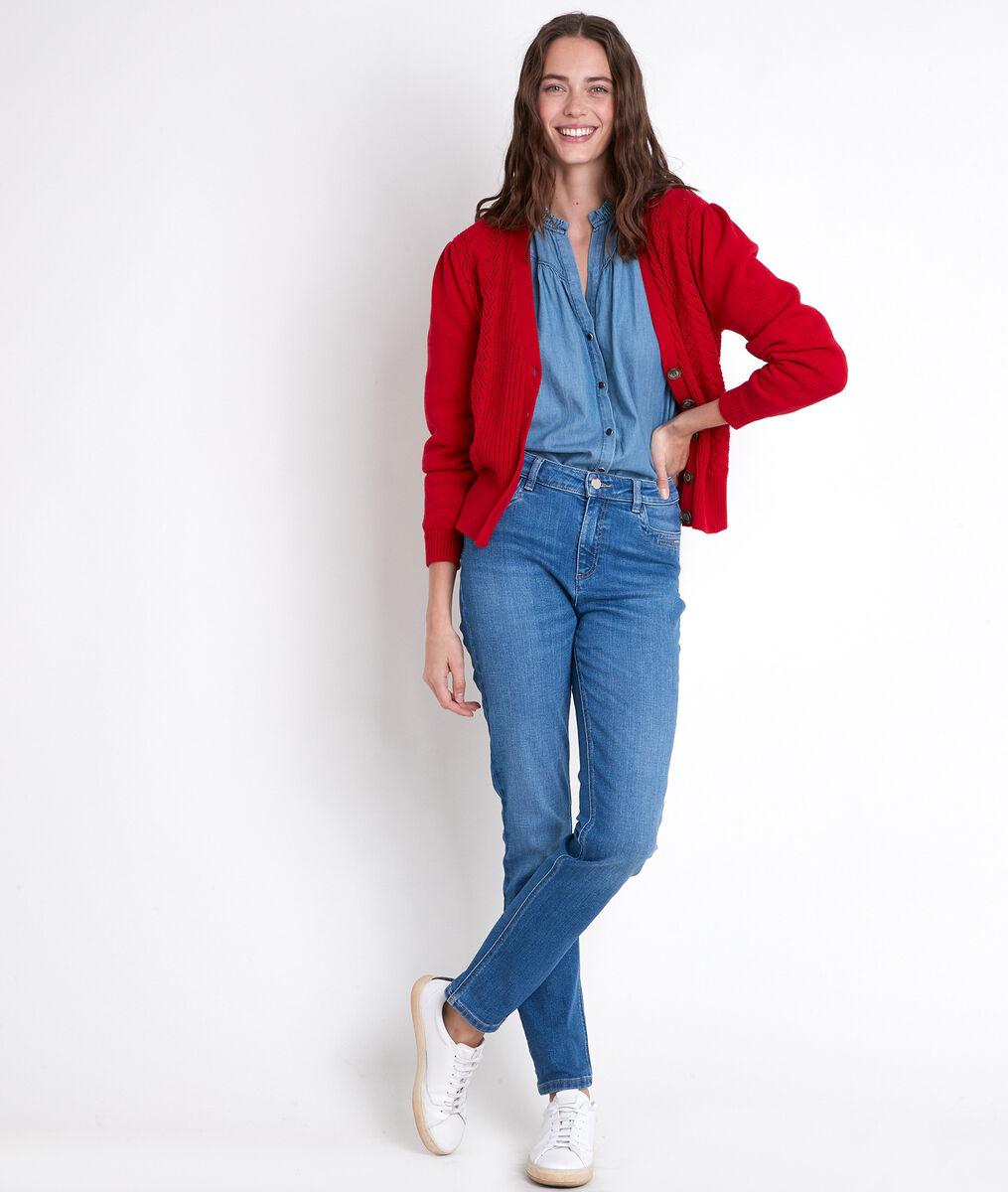 TALY denim blouse PhotoZ | 1-2-3