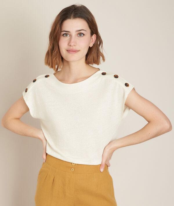 Royal greige linen t-shirt PhotoZ   1-2-3