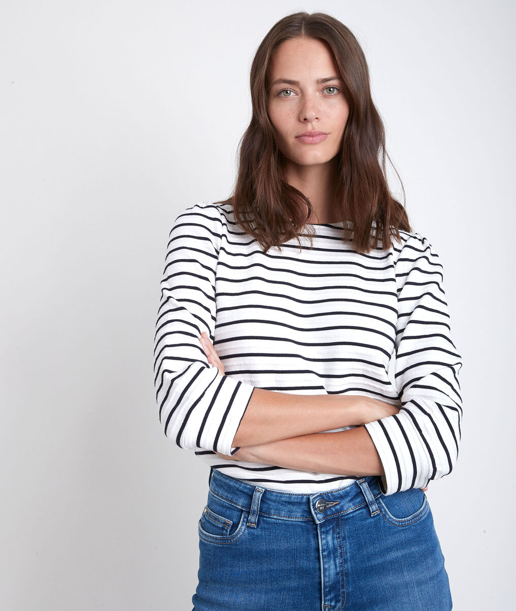 Delice navy striped T-shirt PhotoZ | 1-2-3