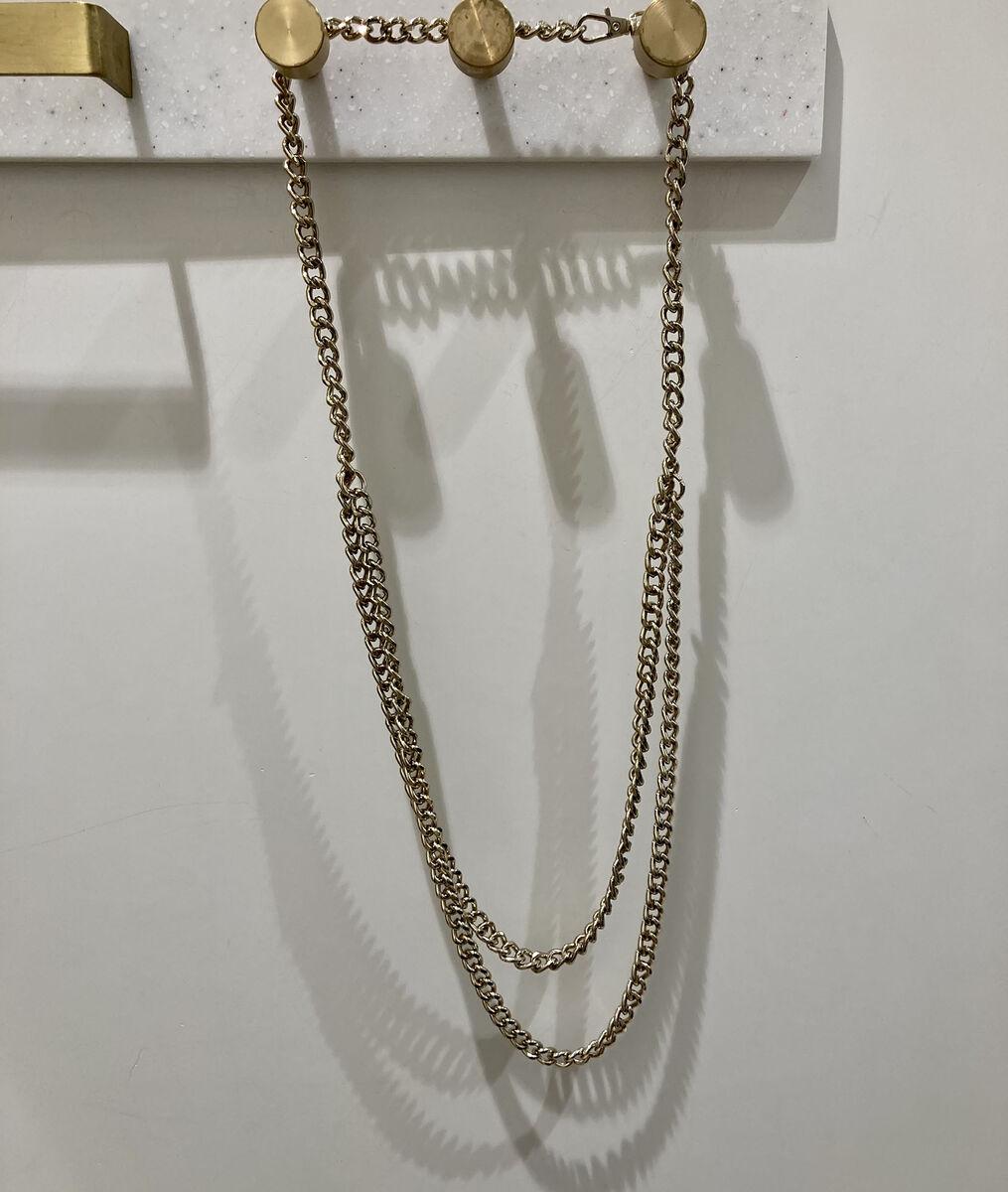 Elie gold chain belt PhotoZ | 1-2-3