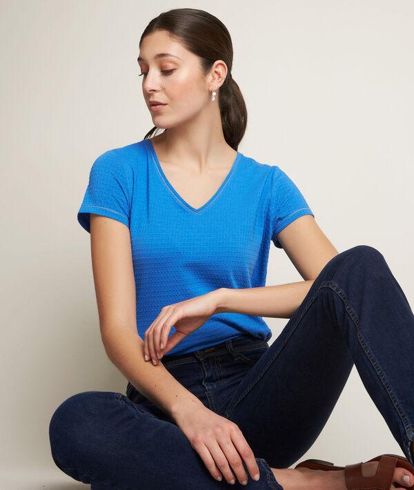 Reglisse blue T-shirt PhotoZ | 1-2-3