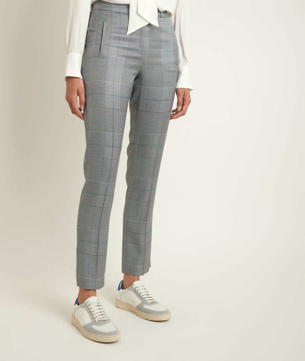 Lara Prince of Wales cigarette trousers PhotoZ | 1-2-3