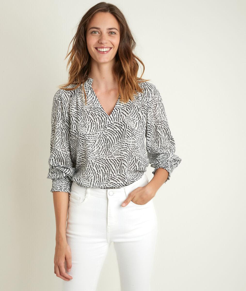 Jenny printed blouse PhotoZ | 1-2-3