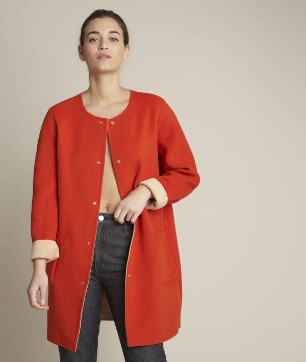 Saelle reversible wool coat PhotoZ   1-2-3