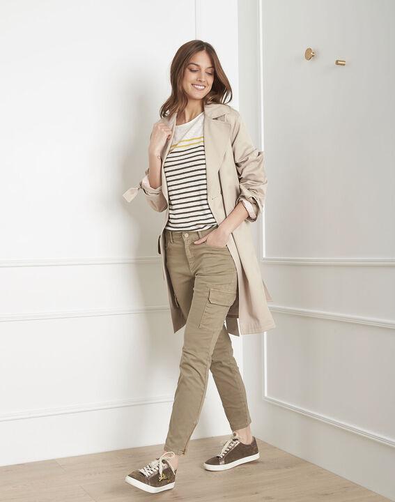 Carolina khaki cargo trousers PhotoZ | 1-2-3