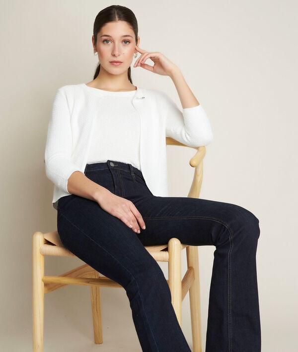 Davina ecru pullover with sequins PhotoZ | 1-2-3