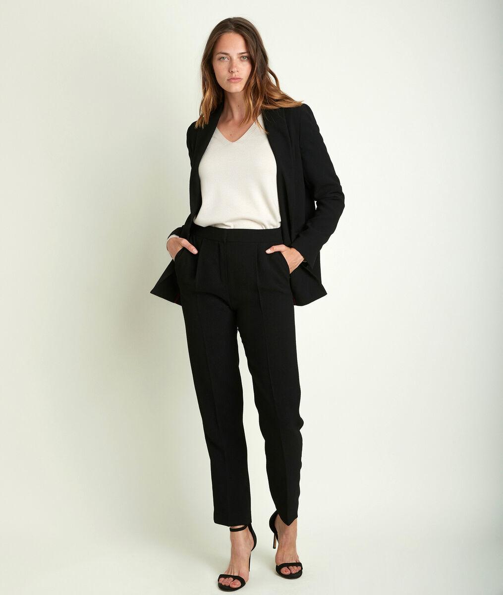 Leonie crêpe jacket PhotoZ | 1-2-3