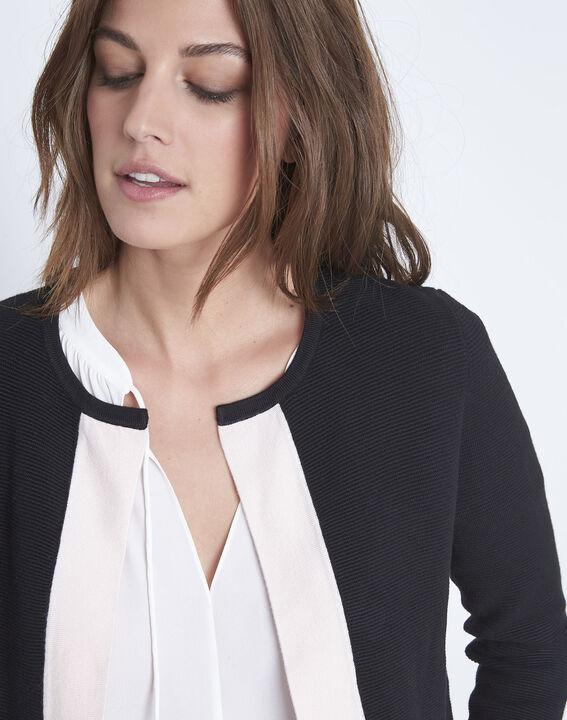 Narcisse 3/4 sleeves black bolero  (3) - Maison 123