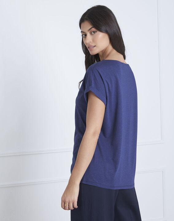 Petropolis blue parrot print T-shirt (4) - Maison 123