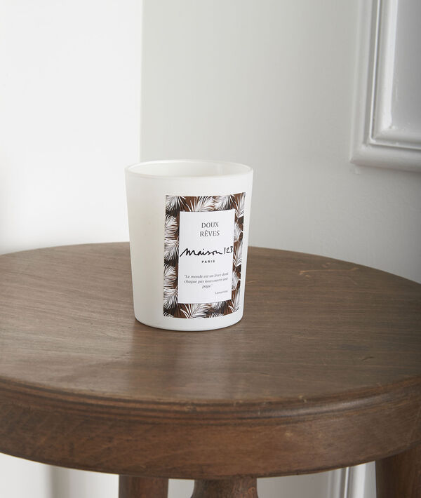 White tea candle PhotoZ | 1-2-3