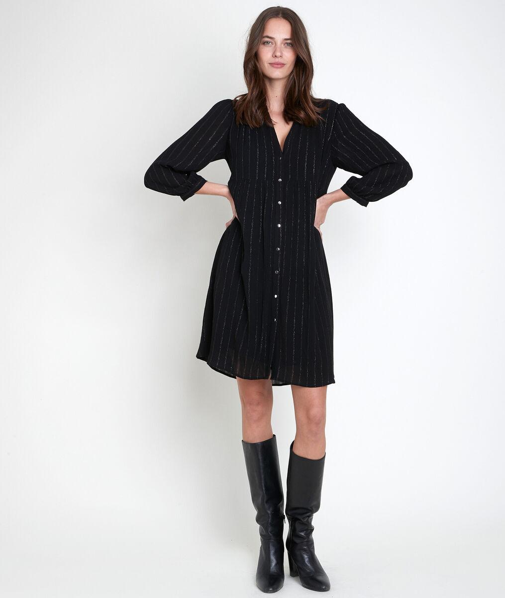 Lana lurex shirt dress PhotoZ | 1-2-3