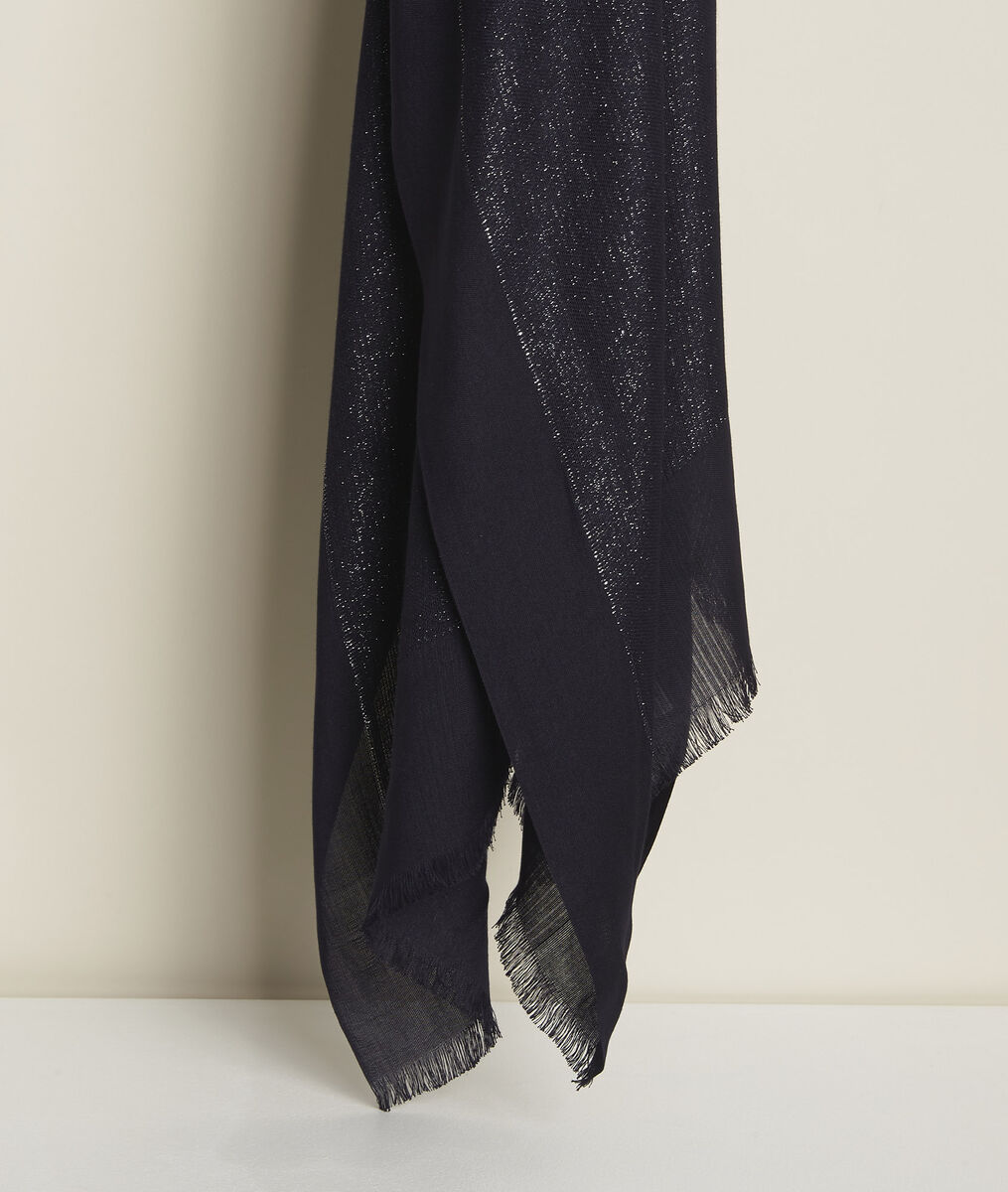 New Osiris navy metallic scarf PhotoZ | 1-2-3