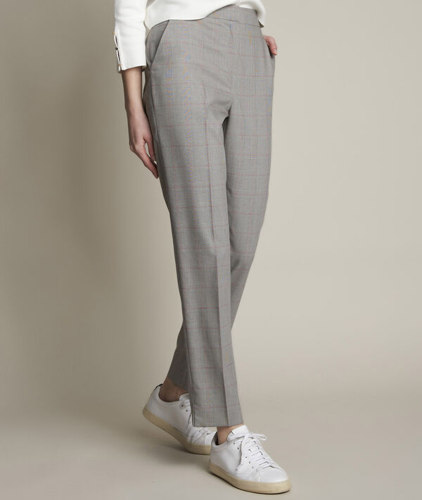Gérende Prince of Wales check print trousers PhotoZ | 1-2-3