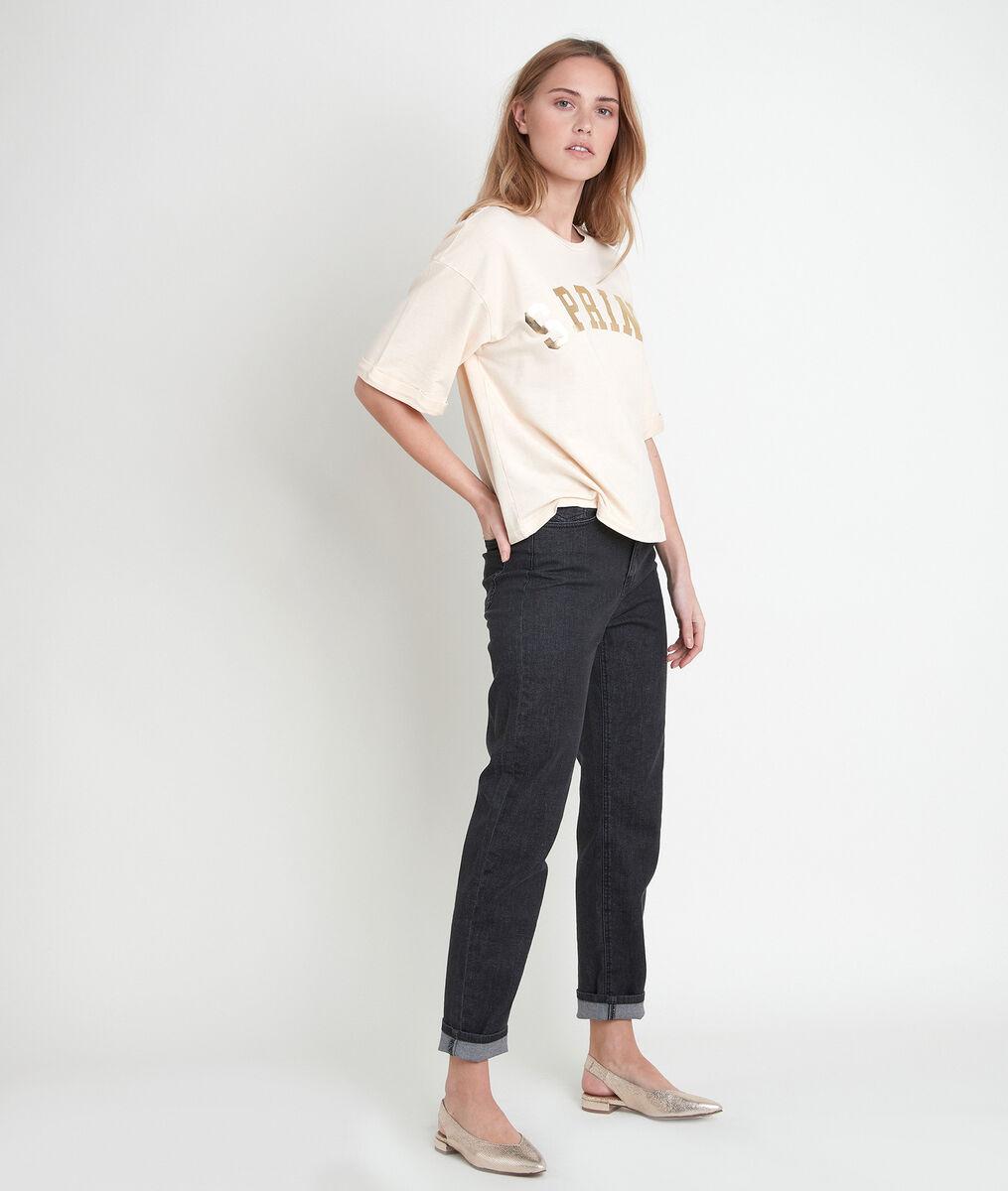 ITAK BIS yellow organic cotton T-shirt PhotoZ   1-2-3