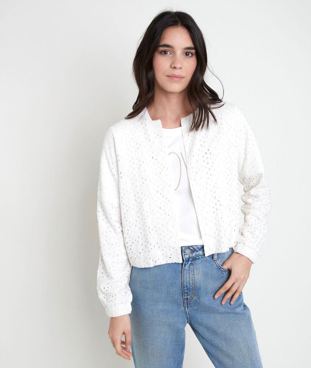 TAYA ecru embroidered jacket PhotoZ   1-2-3
