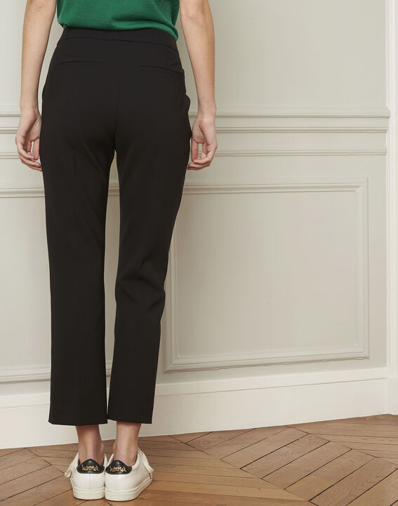 Gaston flared black trousers (3) - Maison 123