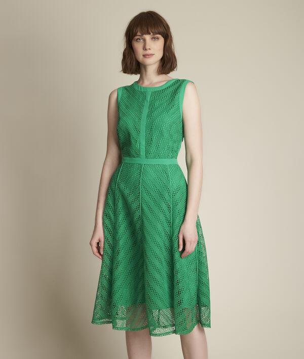 Oryane graphic lace dress PhotoZ | 1-2-3