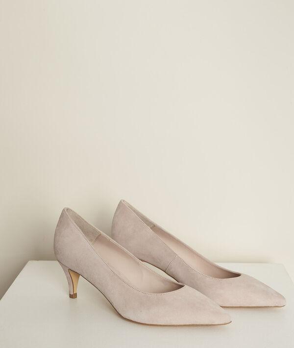 Lili nude leather high heels PhotoZ | 1-2-3