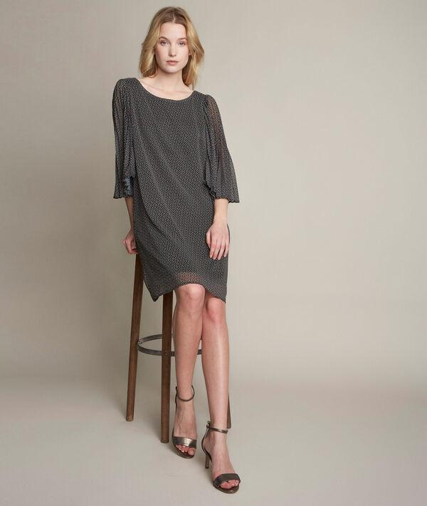 Olivia printed crepe dress PhotoZ   1-2-3