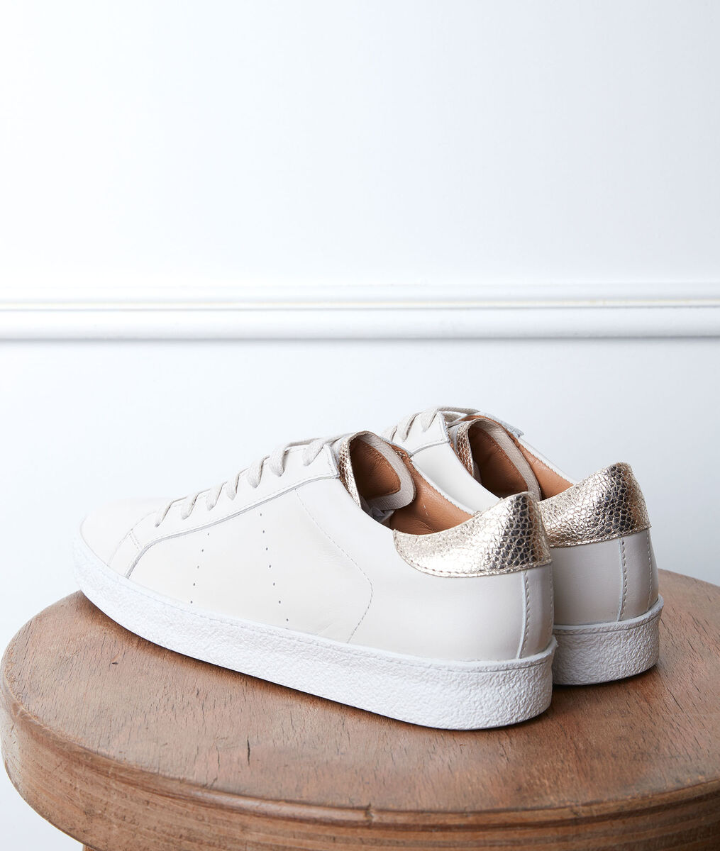 Gilda leather trainers PhotoZ | 1-2-3