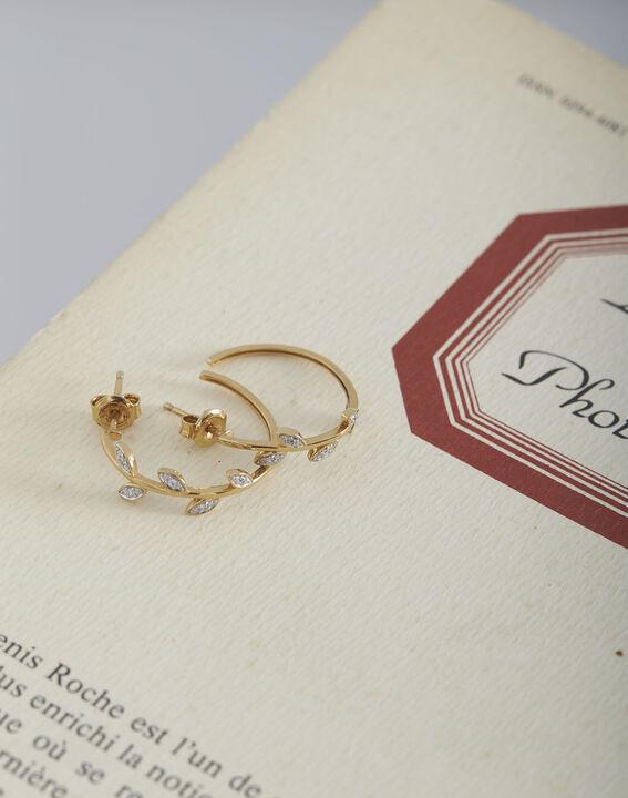 Tessa intricate gold earrings PhotoZ   1-2-3