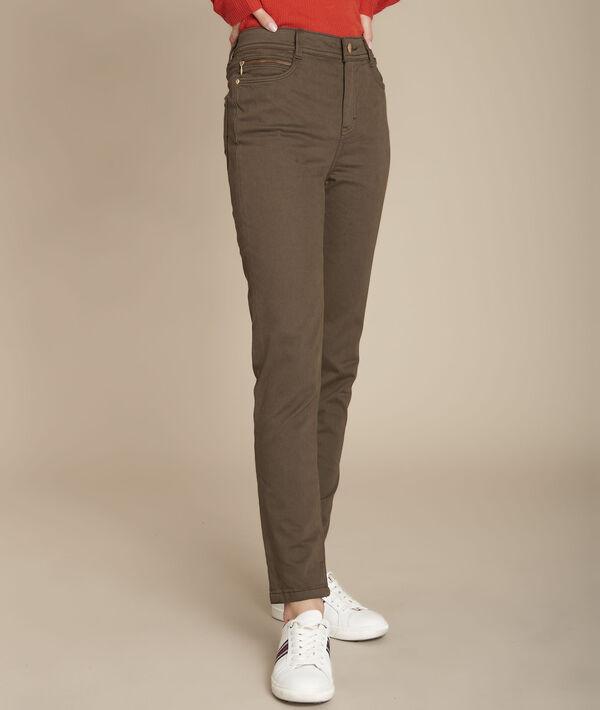 Sultan, the Iconic khaki slim jeans PhotoZ   1-2-3