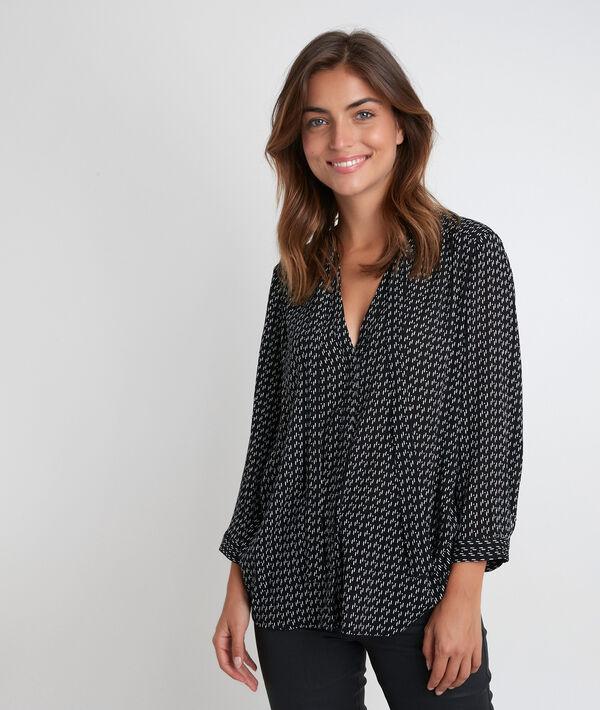 Joly printed pussybow blouse PhotoZ   1-2-3
