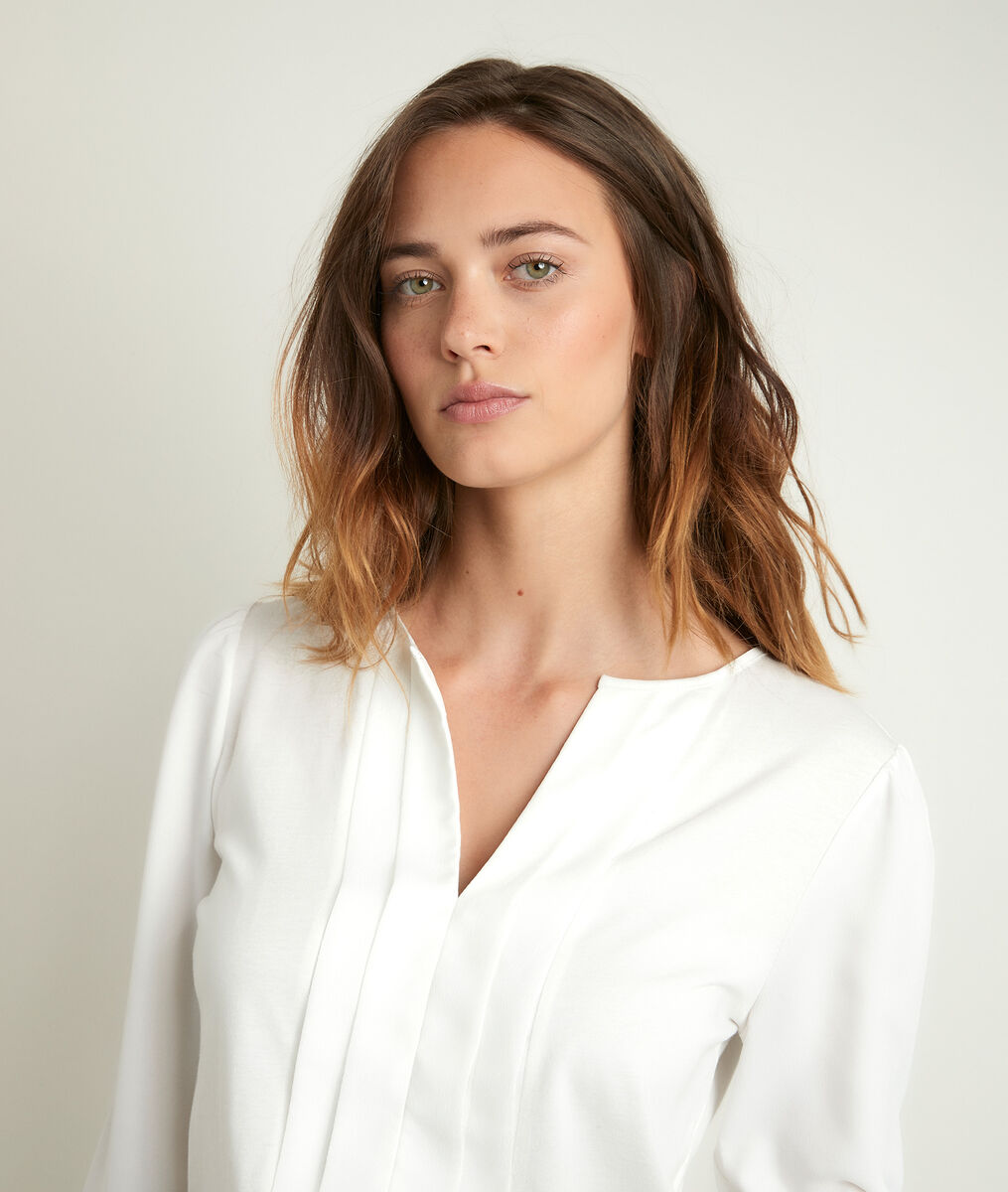 Doline ecru blouse PhotoZ | 1-2-3