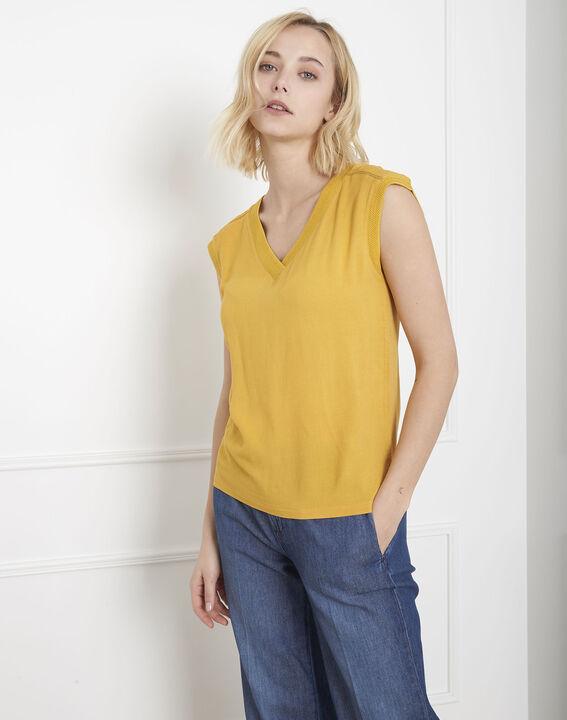 Vivace yellow dual-material top PhotoZ | 1-2-3