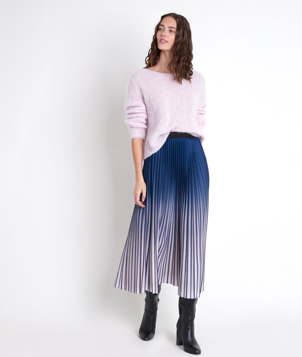 ELARA tie-dye pleated skirt PhotoZ | 1-2-3