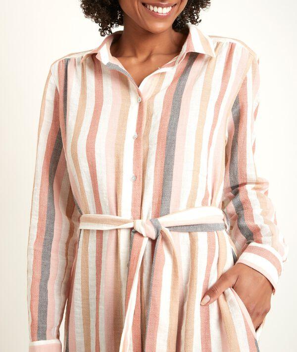 Nalia striped long dress PhotoZ | 1-2-3