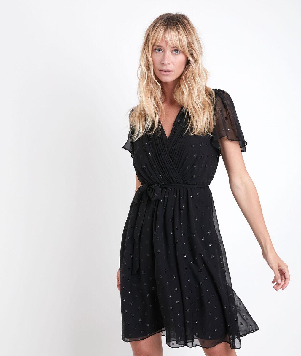 Charline silk lurex dress PhotoZ | 1-2-3