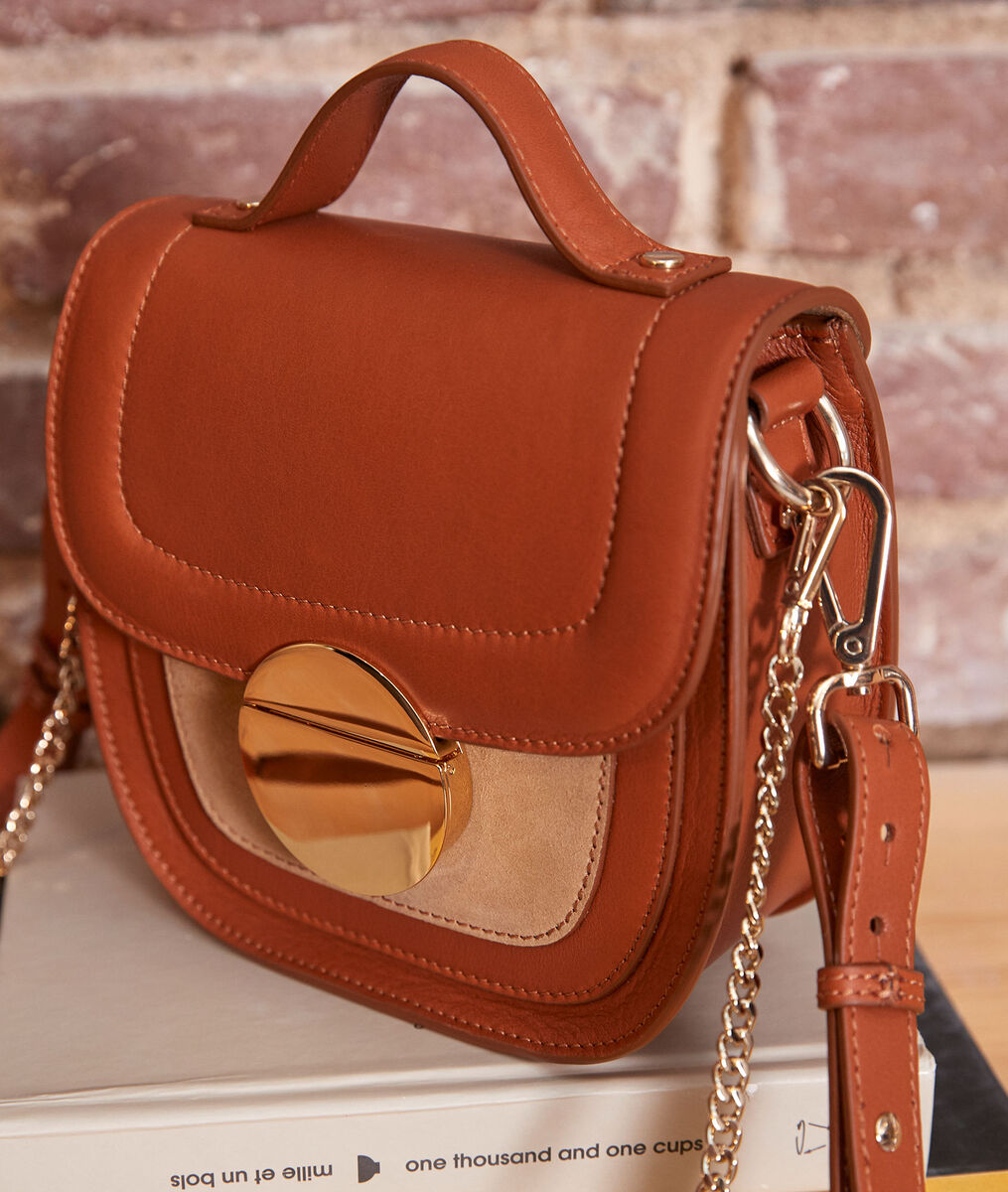 The Numéro 8 camel-coloured — Iconic bag PhotoZ | 1-2-3