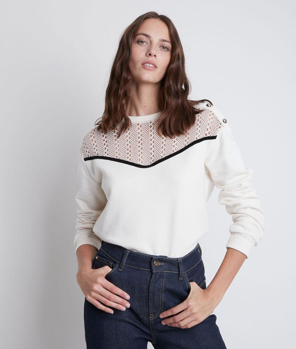 Dimitri lace sweatshirt PhotoZ | 1-2-3