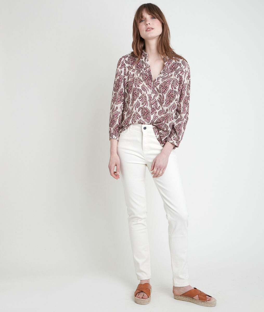 The iconic SUZY slim-fit jeans in fawn-coloured recycled cotton PhotoZ | 1-2-3