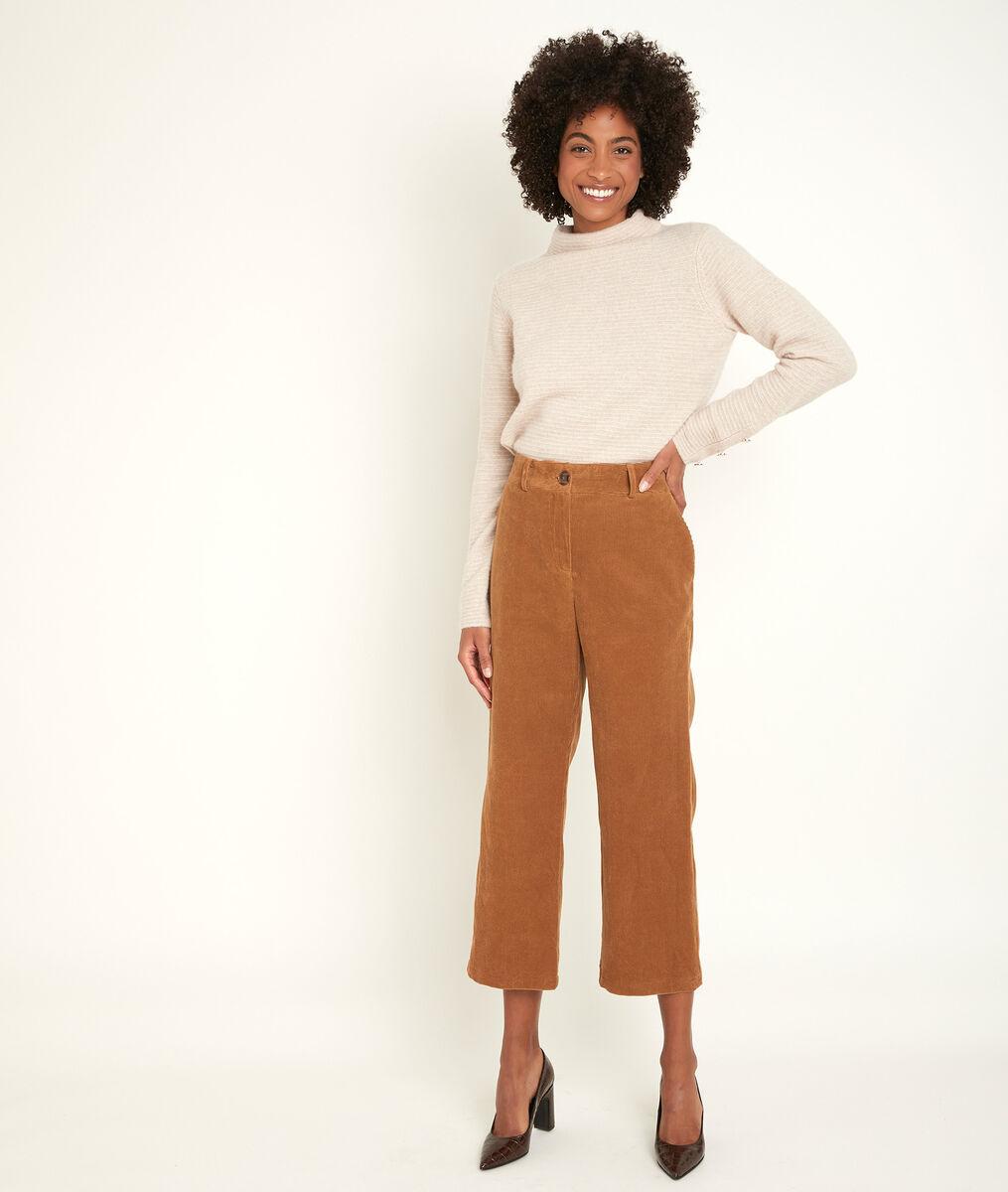 Minako cropped flared trousers PhotoZ | 1-2-3