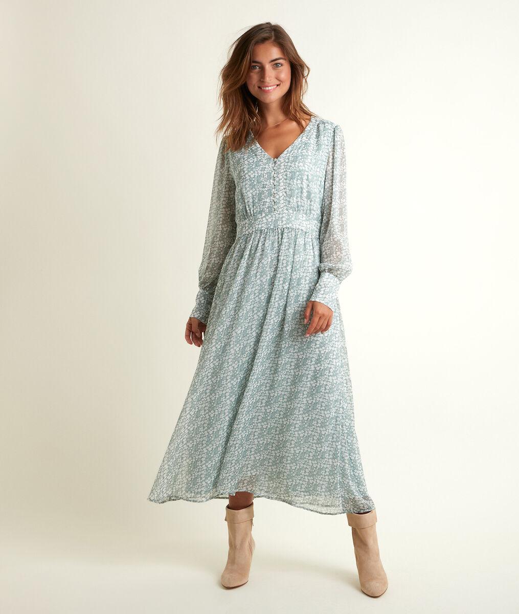 Nety long printed dress PhotoZ   1-2-3