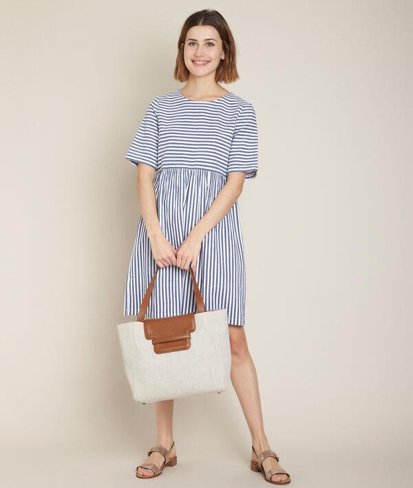 Chaima striped dress PhotoZ | 1-2-3