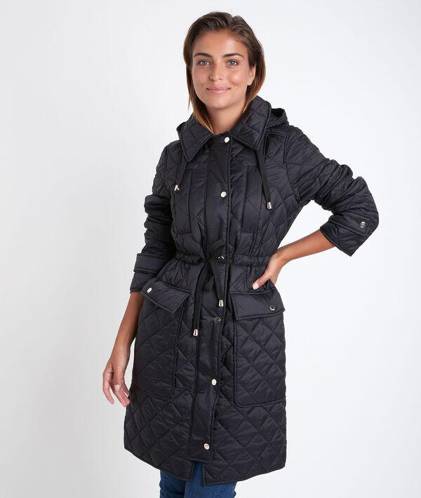 Bakura long hooded down jacket PhotoZ | 1-2-3