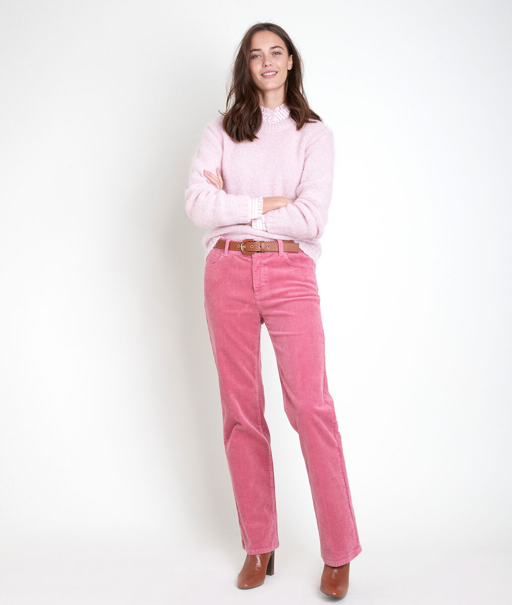 Tonia striped powder pink shirt PhotoZ | 1-2-3